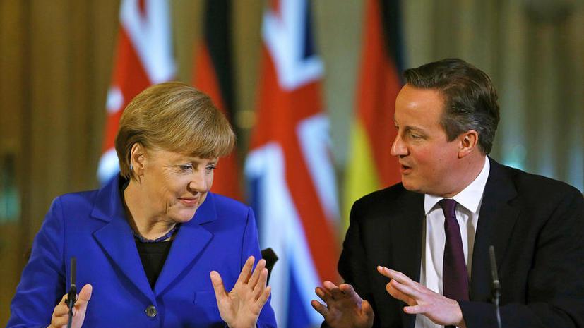 Дэвид Кэмерон: Украина не должна выбирать между Россией и Европой