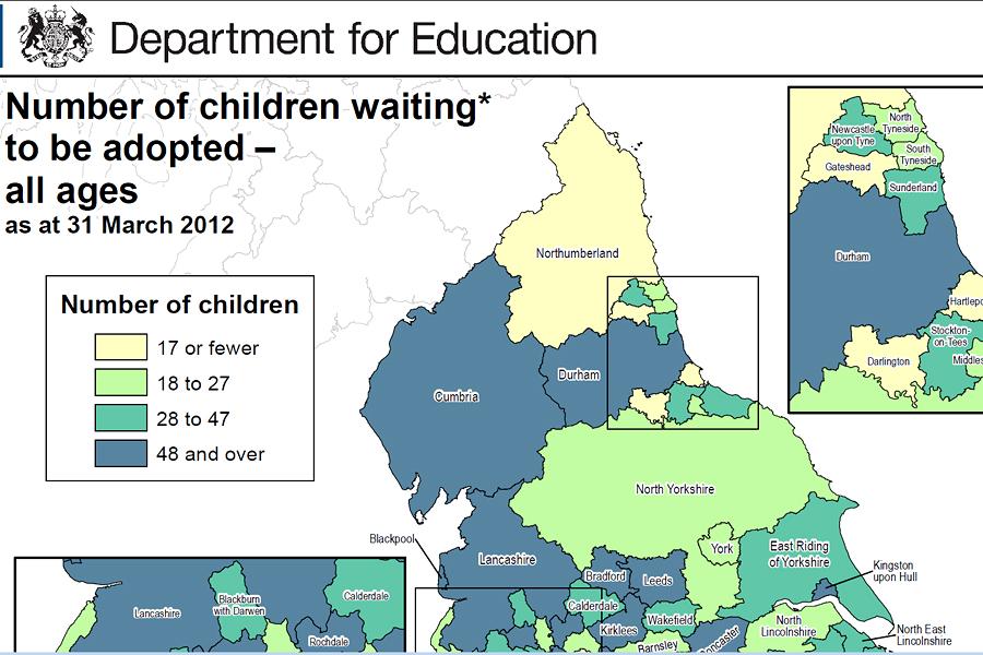 В Великобритании создали виртуальную карту усыновителей