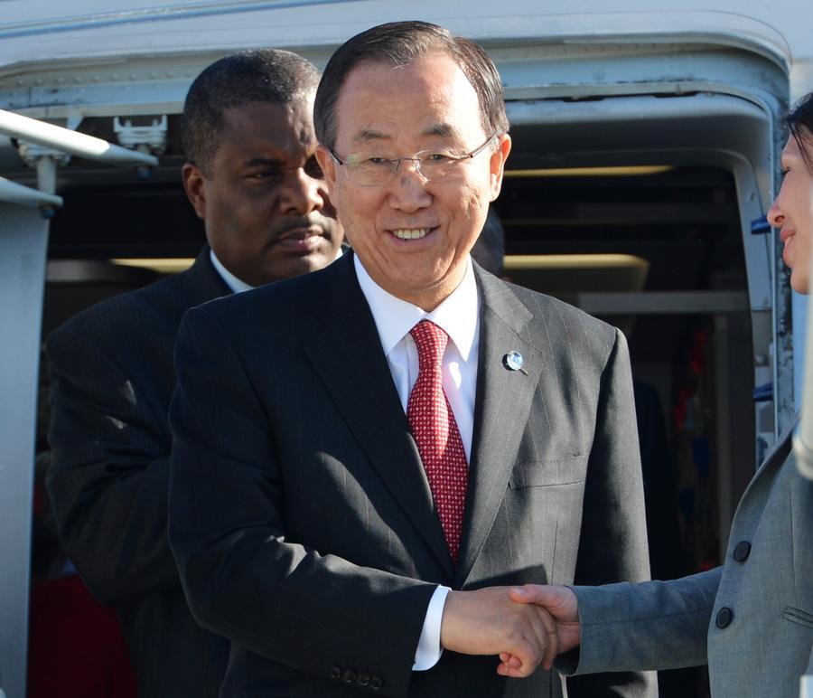 Генсек ООН Пан Ги Мун призвал к скорейшему созыву конференции «Женева-2», напомнив о недопустимости военного конфликта