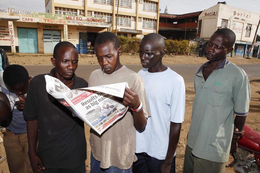 Пациенты кенийской психбольницы сбежали из клиники и растворились в толпе