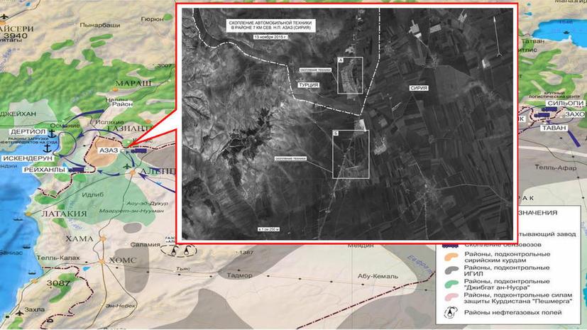 Госдеп США: Фотографии Минобороны РФ с цистернами нефти подлинные, но грузовики шли не в Турцию