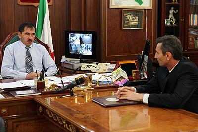 В Ингушетии убит секретарь республиканского Совбеза Ахмед Котиев