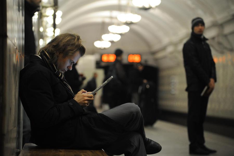 В московском метро готовы запустить систему идентификации пользователей Wi-Fi