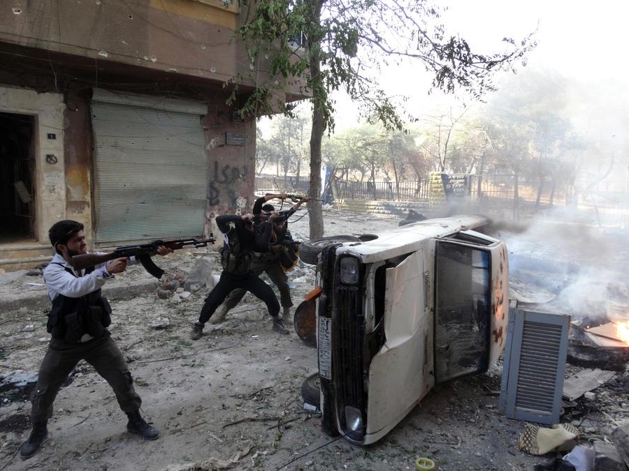 Сирийские боевики захватили центральную тюрьму Алеппо