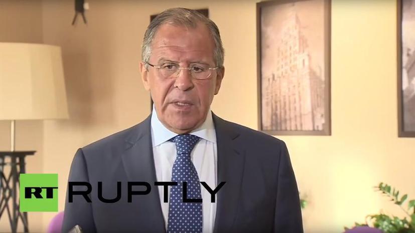 Сергей Лавров: Идея того, что уход Башара Асада решит все проблемы в Сирии — это утопия