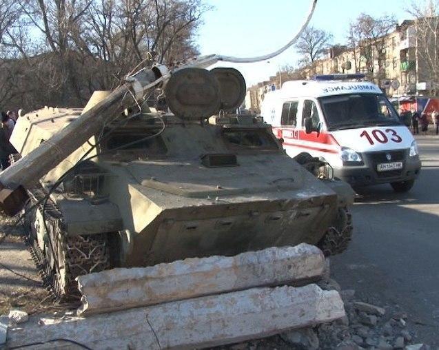 Военная прокуратура Украины подтвердила, что сбившие девочку в Константиновке военные были пьяными