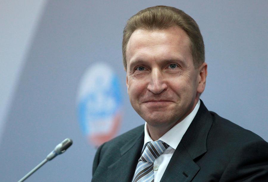 Игорь Шувалов: Россия не будет вводить ответных санкций против Запада
