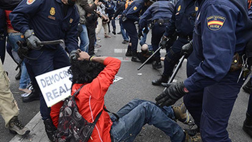 В Испании запретят съемки полицейских