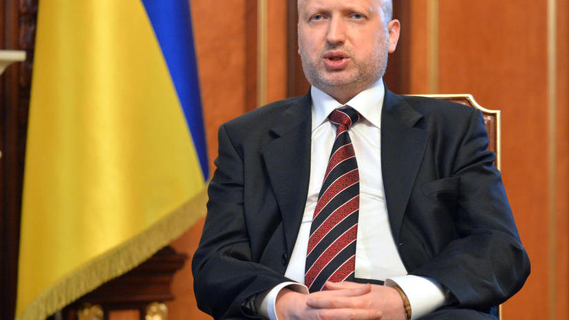 Александр Турчинов: На севере Донецкой области началась силовая операция