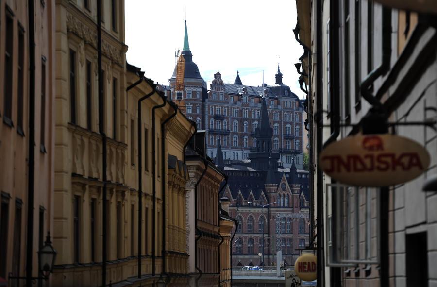 Мужчина, угрожавший устроить взрыв в Стокгольме, сдался полиции