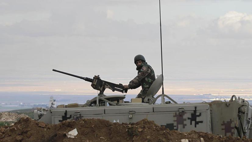 США направит дополнительно военных специалистов в Иорданию для укрепления границы с Сирией