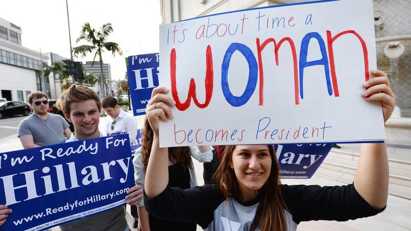 Хиллари Клинтон не исключает своего выдвижения на пост президента США