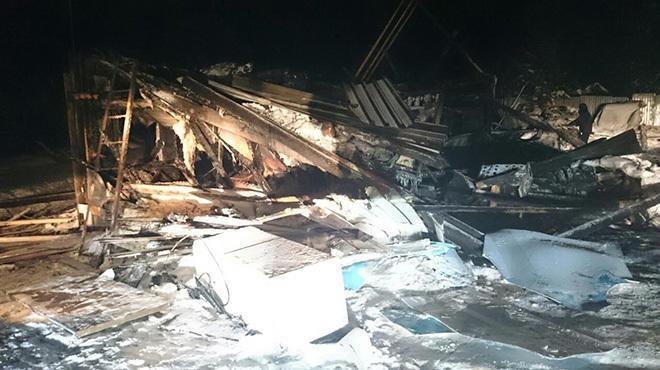 СК РФ возбудил уголовное дело по факту гибели восьми подростков в результате пожара в ХМАО