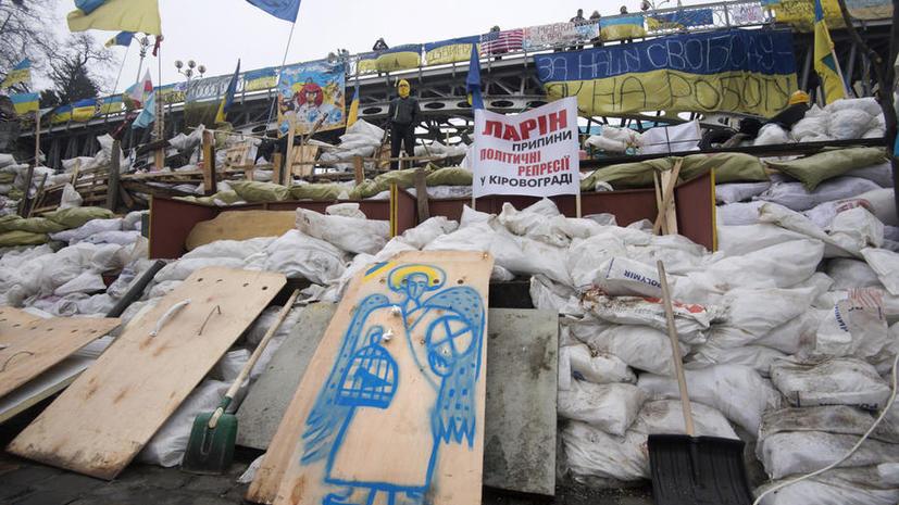 МВД Украины: Среди участников «евромайдана» есть особо опасные рецидивисты