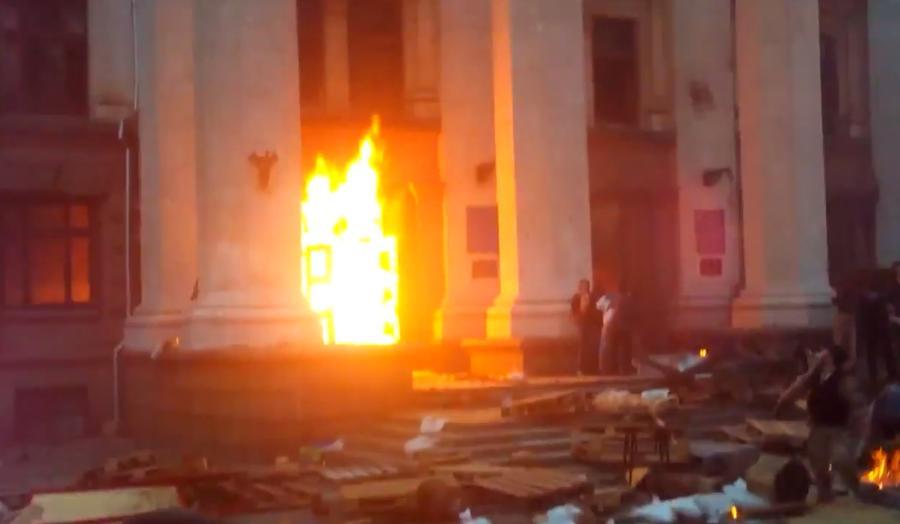 В Одессе в столкновениях с боевиками «Правого сектора» погибли 43 человека