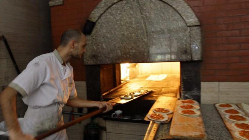 Современные итальянцы слишком гордые, чтобы печь пиццу