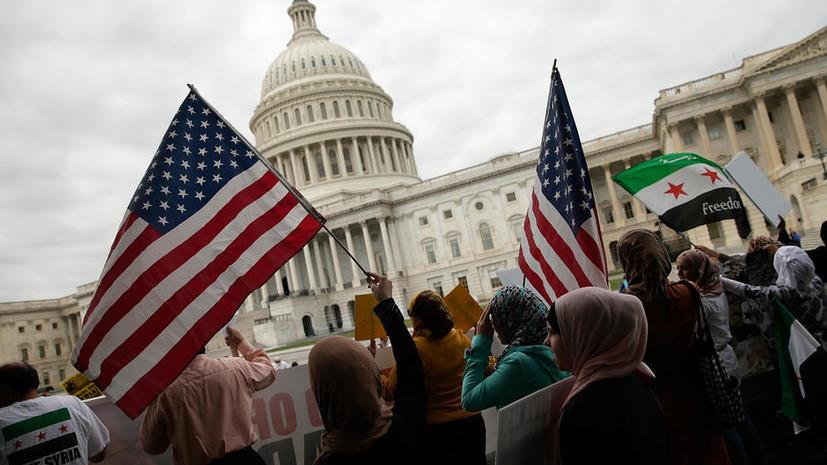 Опрос: Американцы не поддерживают Обаму в сирийском вопросе