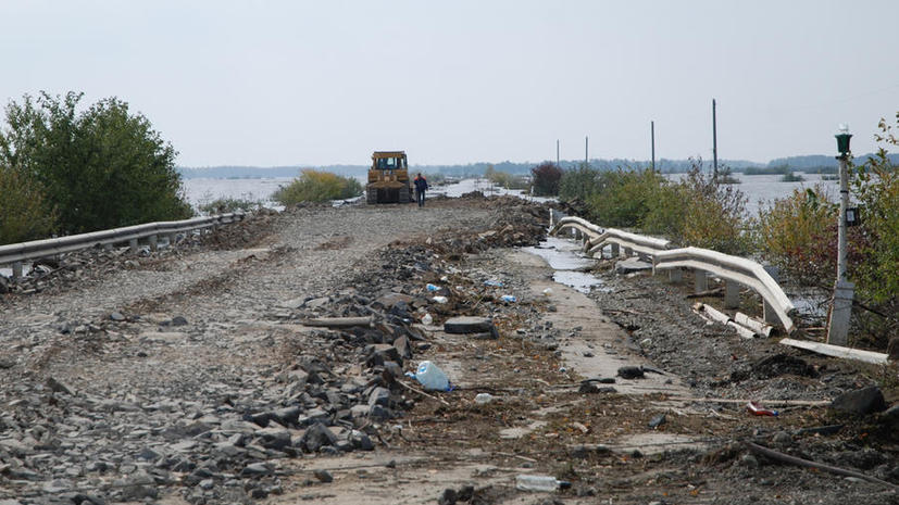 Хабаровский край освободился от паводка