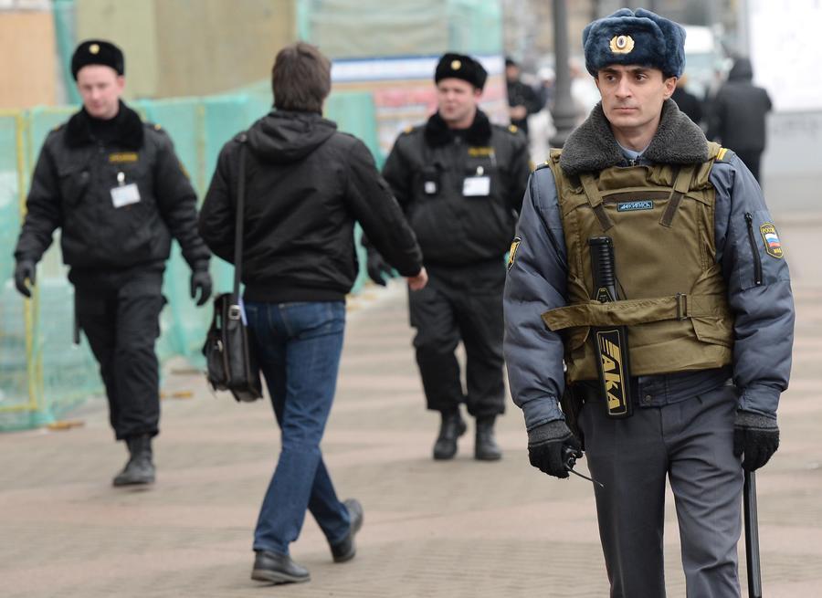 МВД: Полицейский, ранивший трёх сослуживцев в Москве, был пьян