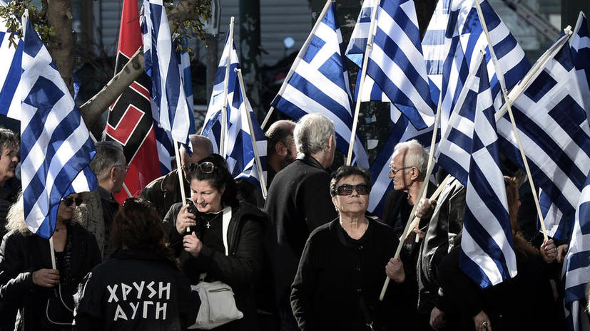 Два депутата ультраправой греческой партии попали за решётку