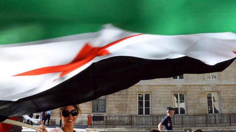 Франция в течение дня представит проект резолюции по Сирии