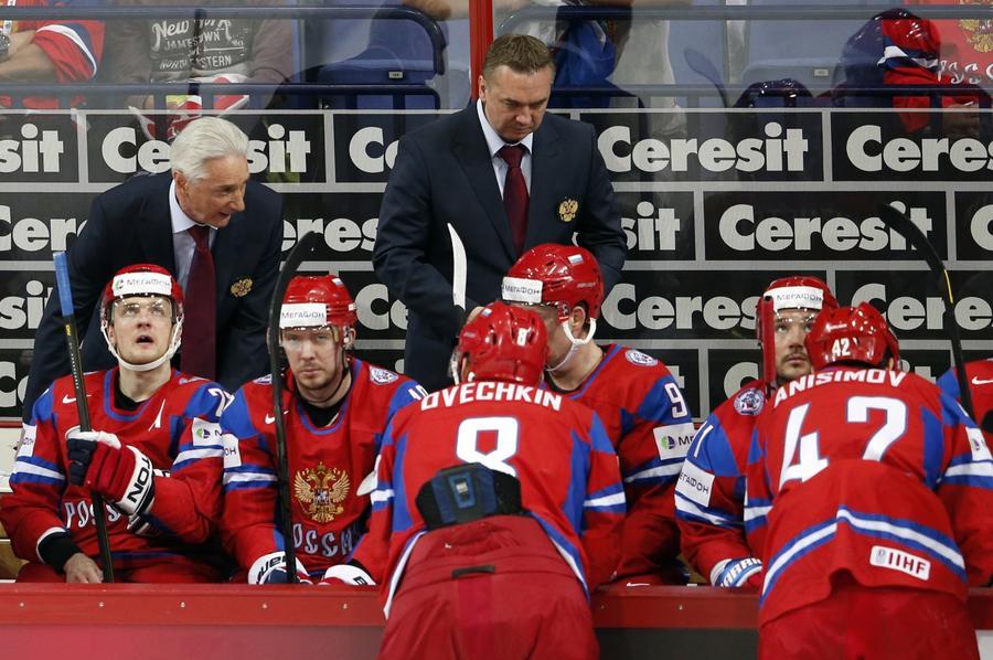 Сборная России по хоккею потерпела разгромное поражение от США и покинула Чемпионат мира