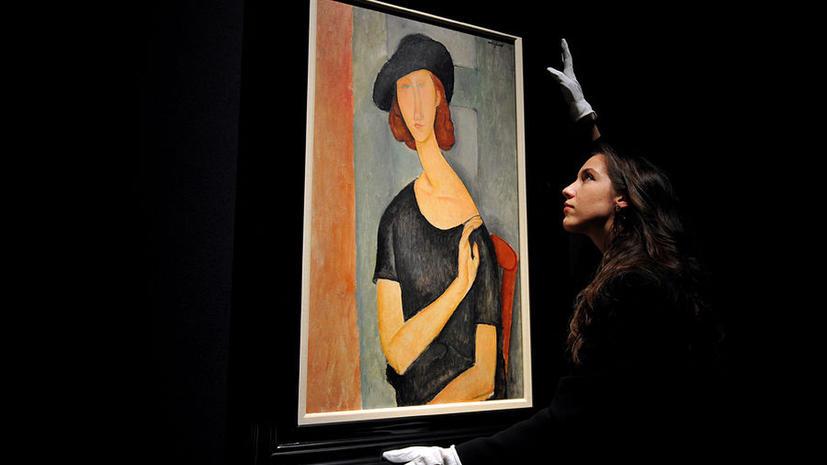 Портрет работы Модильяни ушел с торгов более  чем за $42 млн