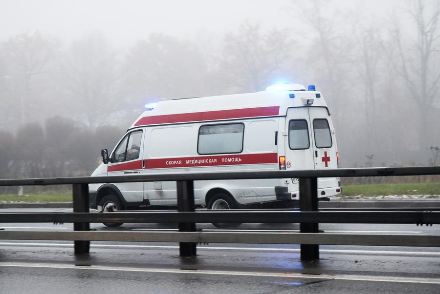 Полицейские задержали фальшивую «скорую помощь» в Москве
