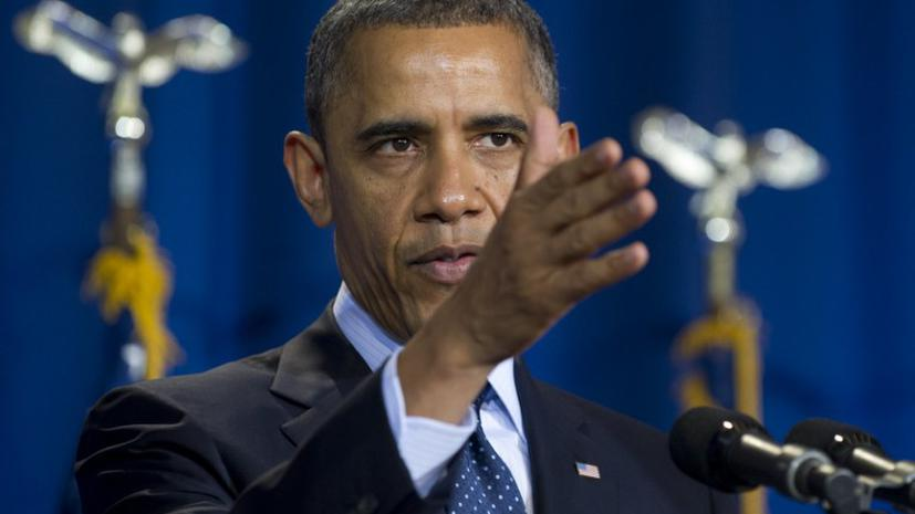 Обама предостерег Асада от использования химоружия