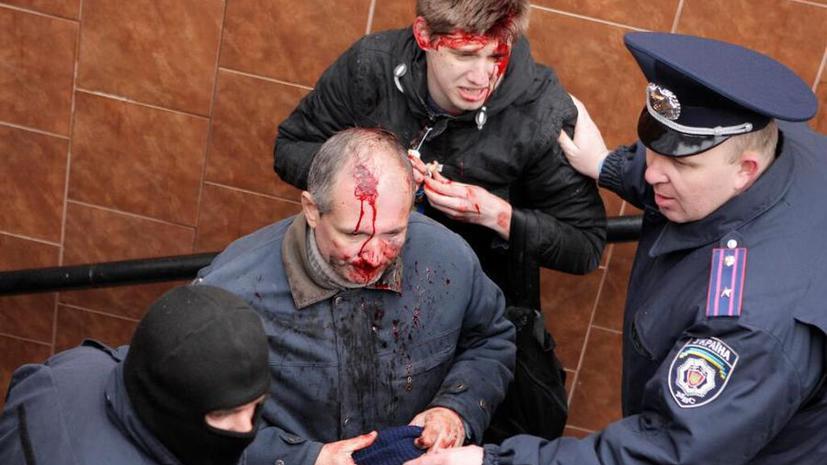 В результате столкновений в Харькове пострадали 50 человек