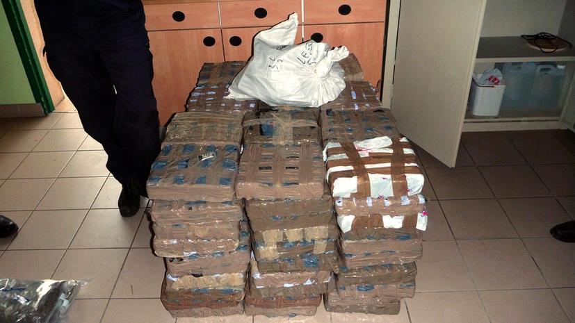 В Испании раскрыта банда наркоторговцев, изъято 11 тонн гашиша