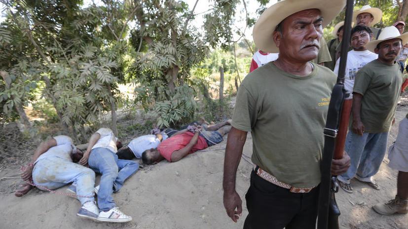 Власти Мексики: Со времён начала нарковойны в стране без вести пропали 8000 человек