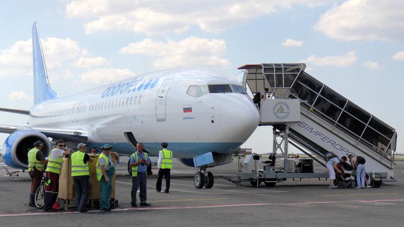 Авиакомпания «Добролёт» приостанавливает работу из-за санкций ЕС