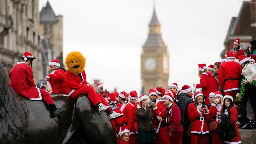 Британцы считают уходящий год эпохой просперити