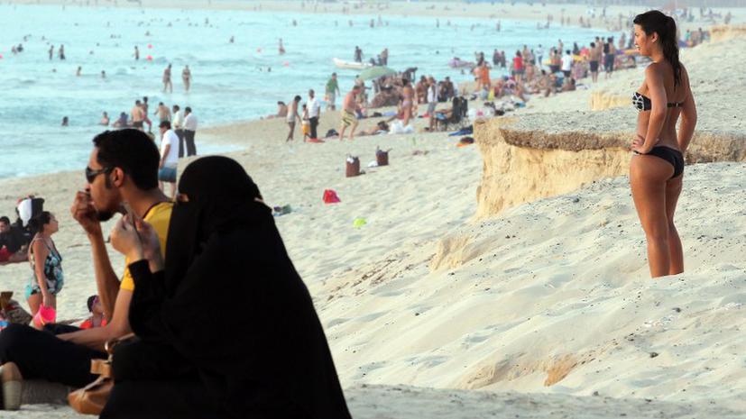 Секс с арабской женщиной в эмиратах