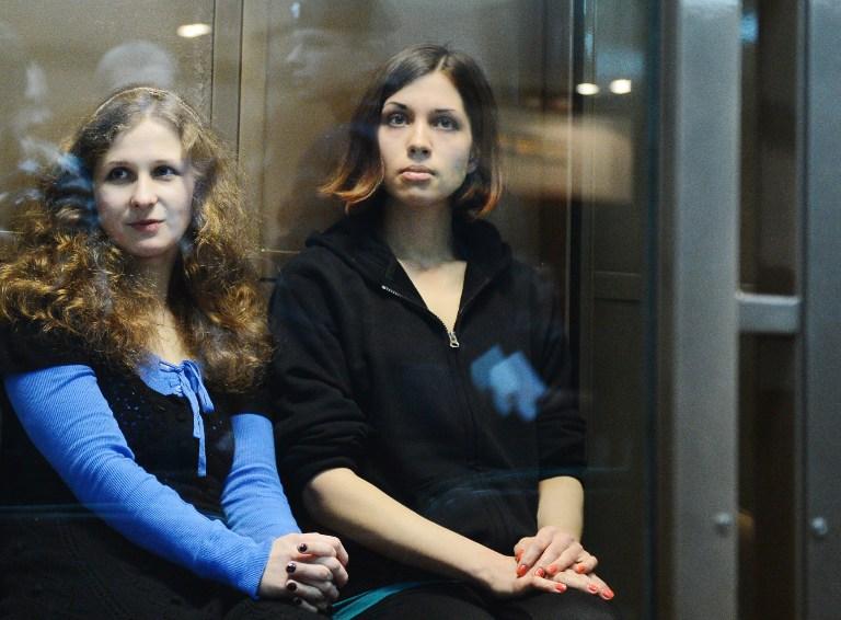 Адвокаты расторгли соглашение с Pussy Riot