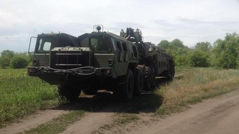 Украинские СМИ приняли монтажную вышку за ракету «Тополь-М», предназначенную для ополченцев