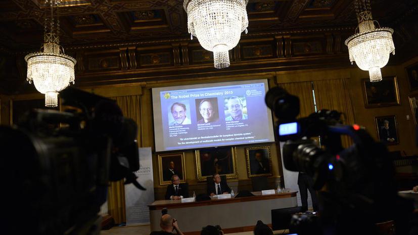 Нобелевскую премию по химии присудили за компьютерное моделирование молекул