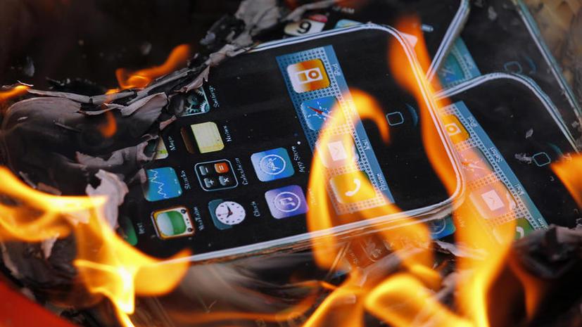 Взрывная волна смартфонов дошла до iPhone 5