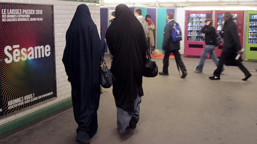 ЕСПЧ одобрил французский закон о запрете ношения паранджи в общественных местах