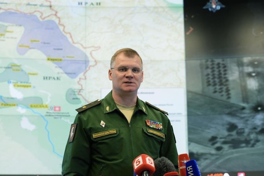 Минобороны РФ: Продолжается уничтожение инфраструктуры «Исламского государства»