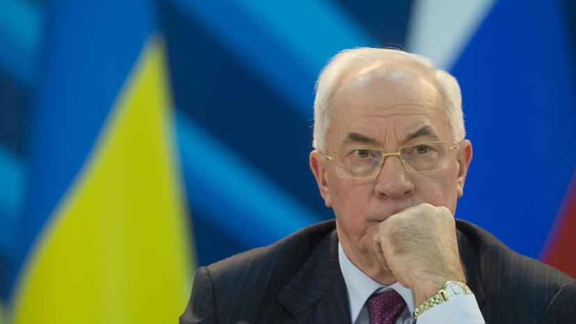 Николай Азаров: Для Украины нормализация отношений с Россией – вопрос номер один