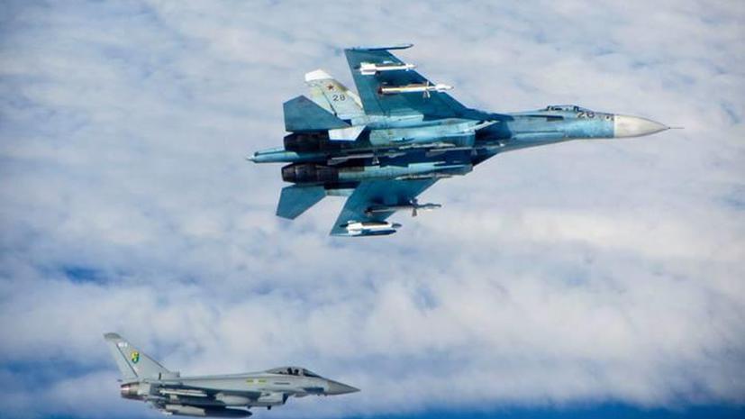 В соцсетях раскритиковали реакцию британских ВВС на учения российской авиации