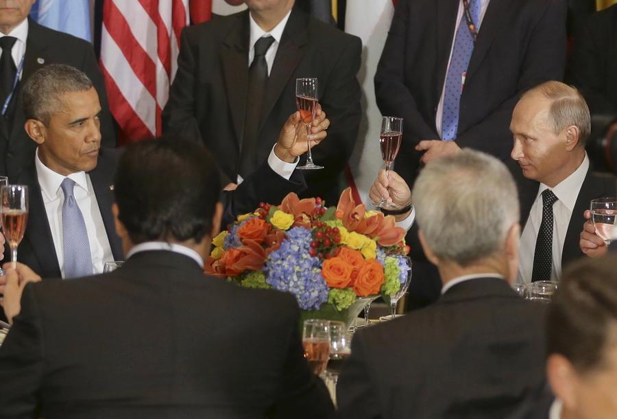 Польские СМИ: Владимир Путин и Барак Обама — два самых влиятельных политика в мире