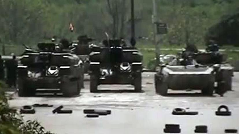 Израиль утверждает, что на Голанских высотах были замечены сирийские танки