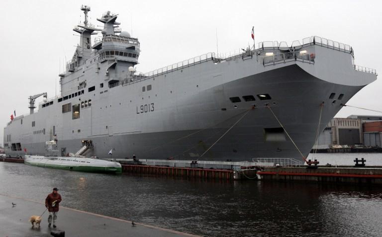 Один из «Мистралей» войдёт в состав Черноморского флота в 2017 году