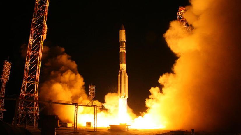 Ракета «Протон-М» с военным спутником стартовала с космодрома Байконур