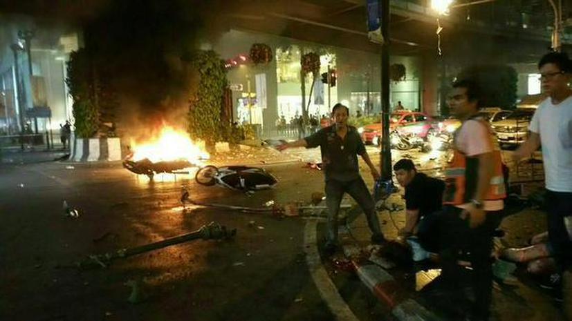 Теракт в Таиланде — хронология событий