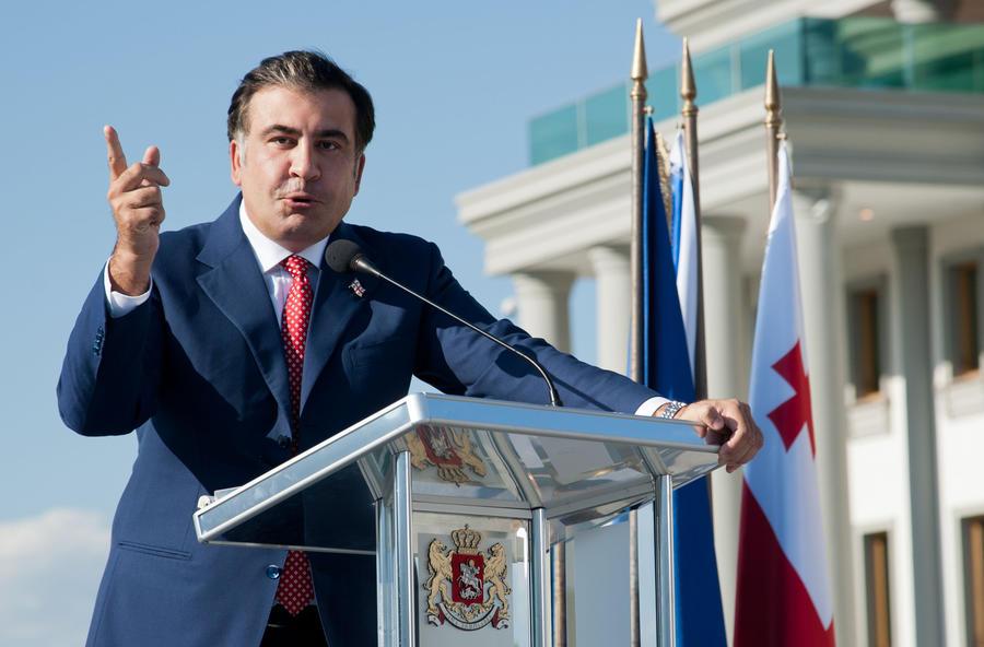 СМИ: Над имиджем Саакашвили трудился шведский МИД