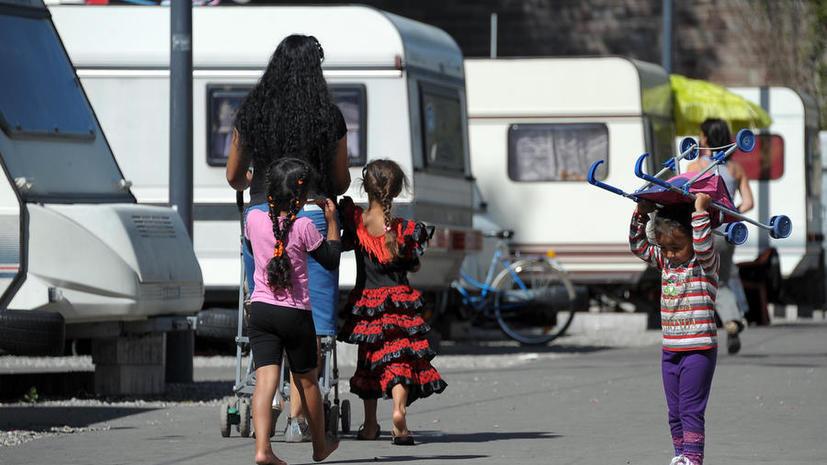В центре Парижа по решению властей может возникнуть цыганское гетто